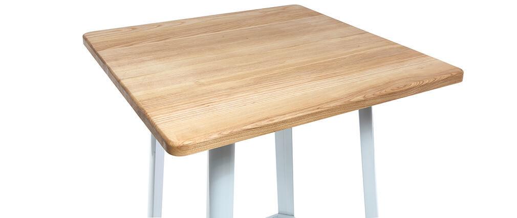 Table de bar design blanche JONES
