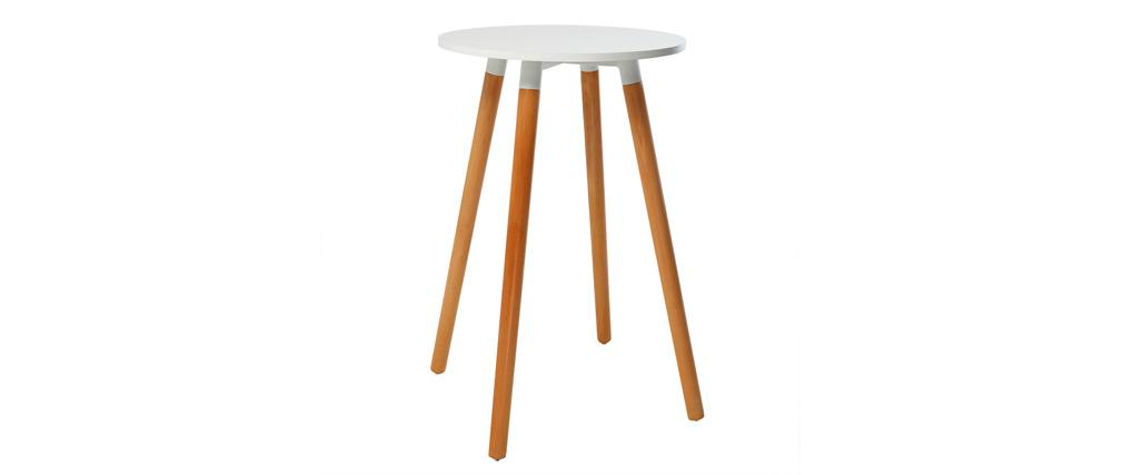 Table de bar design bois GILDA