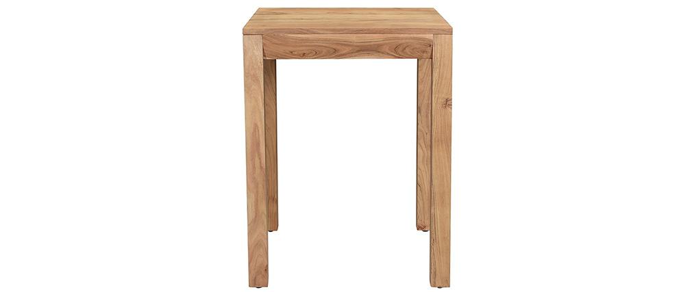 Table de bar extensible en acacia massif L80-135 cm BALTO