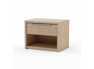 Table de chevet 1 tiroir design bois clair BEA