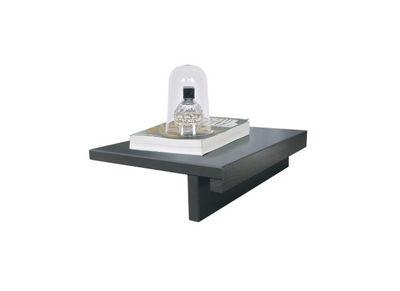Table de chevet design bois noir lot de 2 SALT