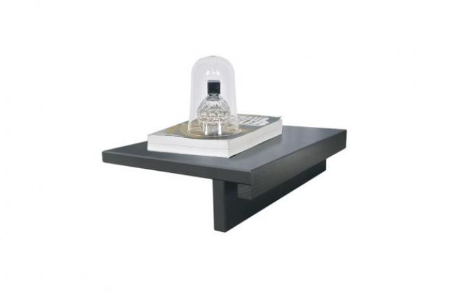 Chevet tablette fixer au lit noa les meubles pour for Table de chevet pour mezzanine