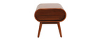 Table de chevet design noyer 1 tiroir BJORG