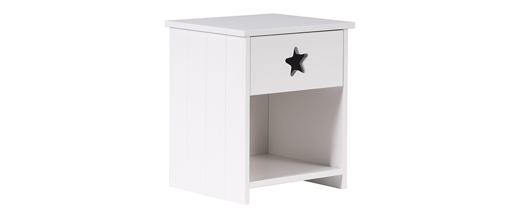 table de chevet enfant design mdf dream miliboo. Black Bedroom Furniture Sets. Home Design Ideas