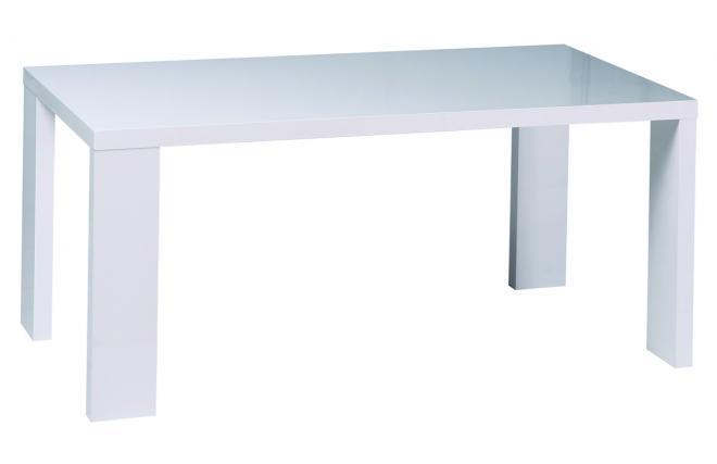 table de cuisine manger blanche moderne rectangulaire. Black Bedroom Furniture Sets. Home Design Ideas