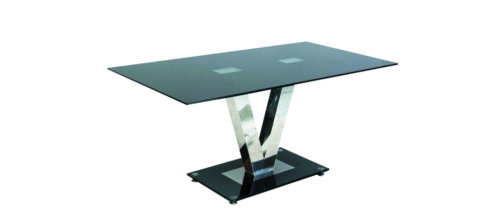 Table A Manger Verre Trempe Conceptions De Maison