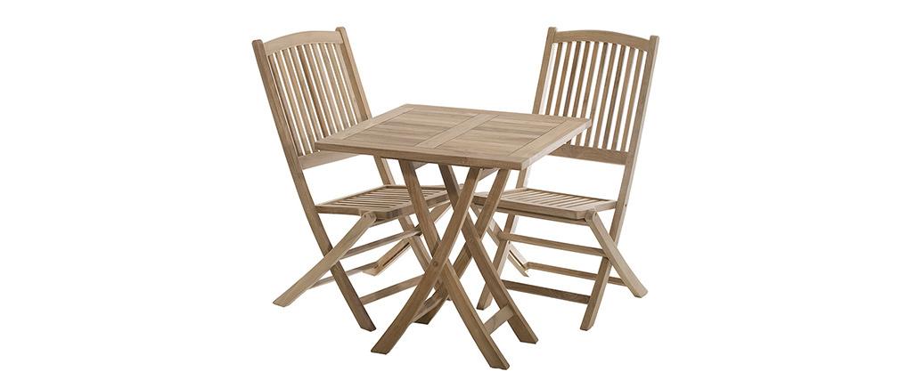 Table de jardin en teck PORTO
