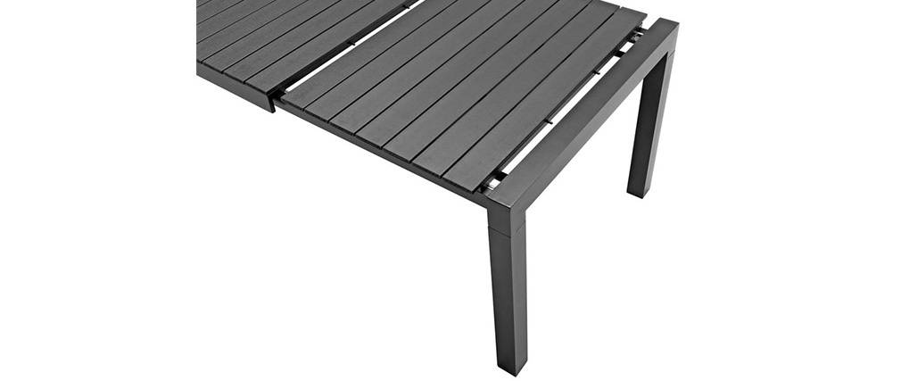 Best Table De Jardin Noire Extensible Gracioza Pictures Awesome Interior Home Satellite