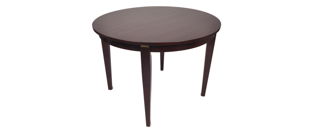 Table ronde de salle manger sara ch ne malaisien for Table salle a manger wenge design