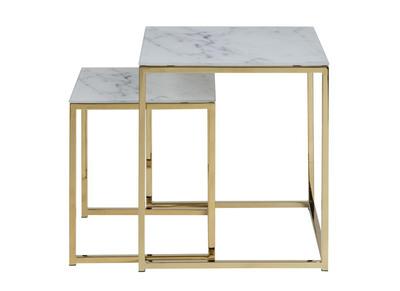 Table basse relevable design ou de style scandinave miliboo - Table basse effet marbre ...