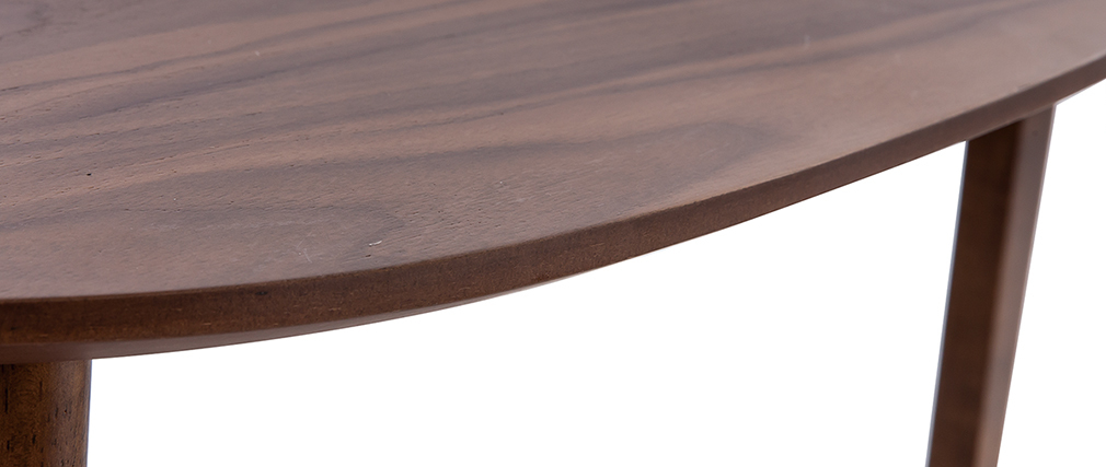 Tables basses gigognes vintage noyer (lot de 2) ARTIK