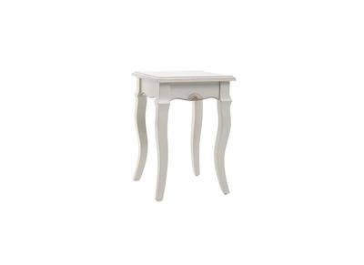 Chaise en bois nos chaises en bois design et pas cher miliboo - Tabouret baroque blanc ...