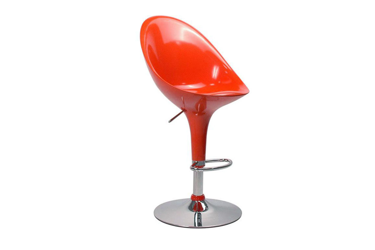 tabouret de bar cuisine design orange oeuf (lot de 2) 10407 pub1 0 0 0 18 Merveilleux Chaise Transparente De Couleur Hzt6