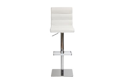 Tabouret de bar design blanc COLOMBUS