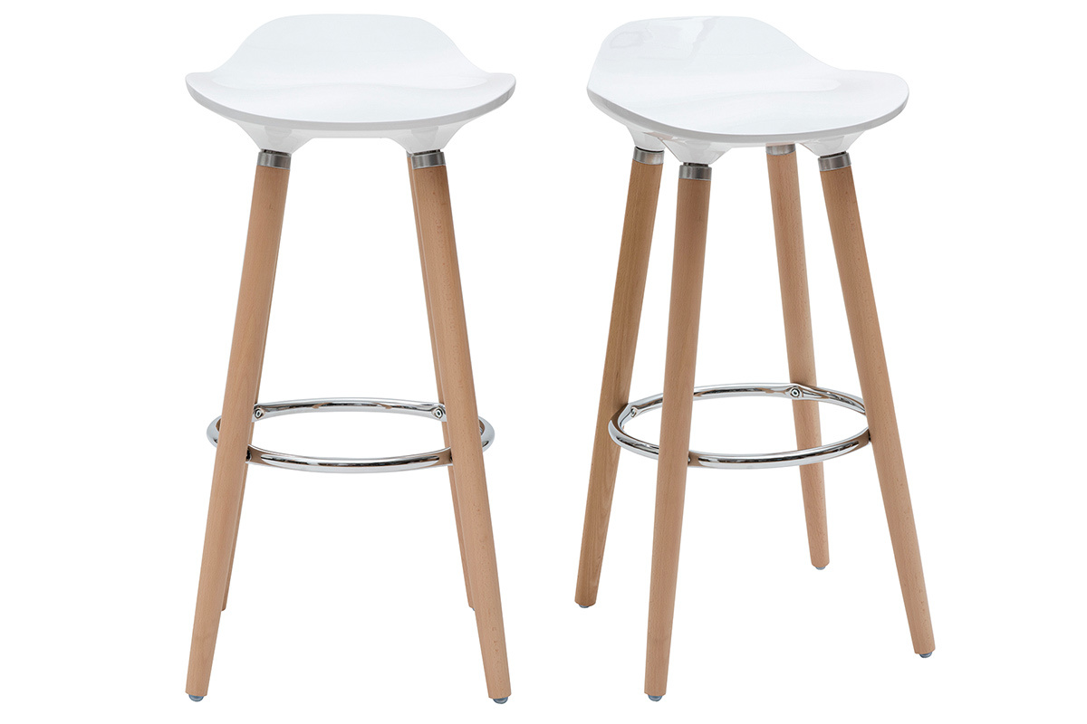 tabouret de bar bois blanc id e int ressante pour la conception de meubles en bois qui inspire. Black Bedroom Furniture Sets. Home Design Ideas