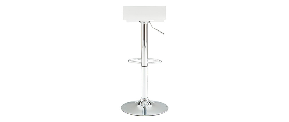 Tabouret de bar design blanc SURF