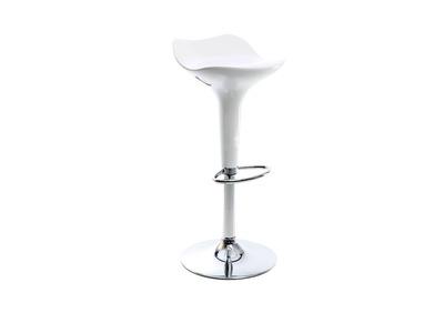 Tabouret de bar design blanc URANUS
