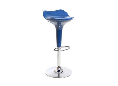 Tabouret de bar design bleu URANUS