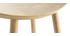 Tabouret de bar design bois clair 65 cm DEMORY