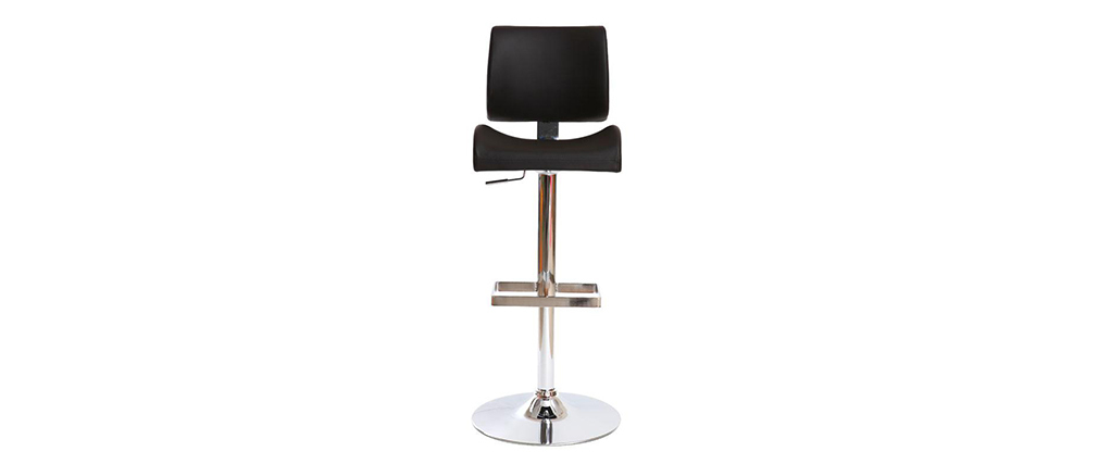 Tabouret de bar design noir CERES