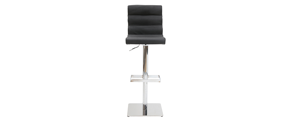 Tabouret de bar design noir COLOMBUS