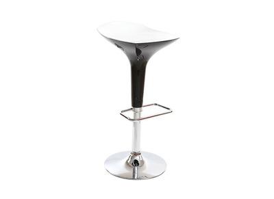 Tabouret de bar design noir et blanc VENUS