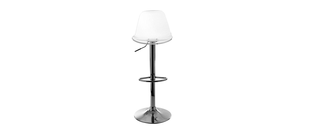 Tabouret de bar design transparent GALILEO