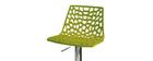 Tabouret de bar design vert ATRAX