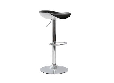 Tabouret de bar noir brillant SONEAR