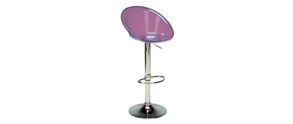 Prix des tabouret de bar violet - Tabouret de bar couleur prune ...
