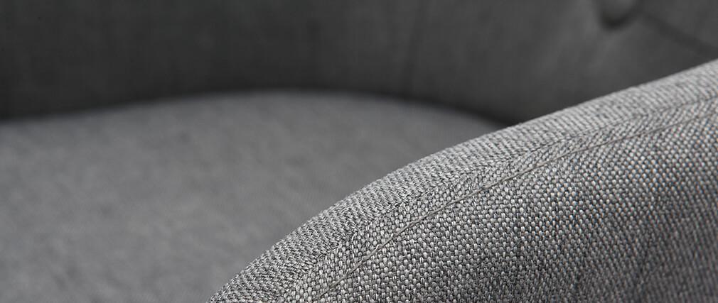 Tabouret de bar scandinave 75 cm gris foncé BALTIK