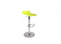Tabouret de bar up to you design bicolore jaune et blanc VEGA