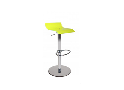 Tabouret de bar up to you design bicolore jaune et blanc VEGA