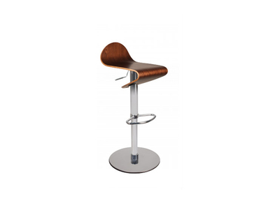 Tabouret de bar up to you NEW CELESTE bois marron clair
