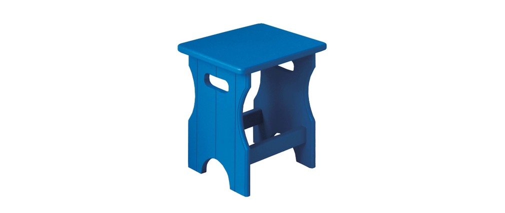 Tabouret enfant bleu NINON