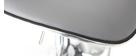 Tabourets de bar design gris (lot de 2) PEGASE