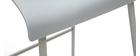 Tabourets de bar design gris 76 cm (lot de 2) ONA