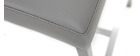 Tabourets de bar design gris clair 66 cm (lot de 2) OLLY