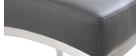Tabourets de bar design gris foncé 66 cm (lot de 2) OLLY