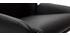 Tabourets de bar design noir (lot de 2) ALEK