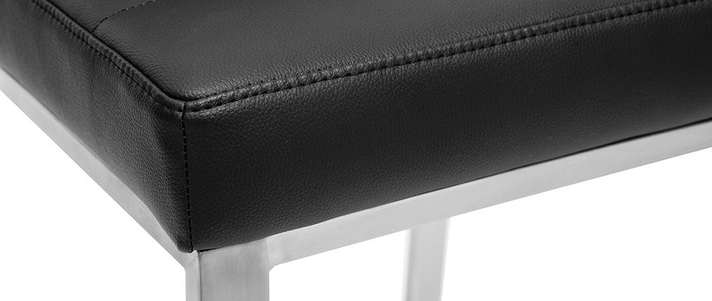 Tabourets de bar design noirs 66 cm TOMY