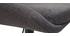 Tabourets de bar design réglables gris foncé (lot de 2) HOLO