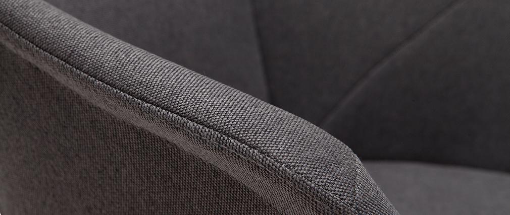 Tabourets de bar design réglables gris foncé (lot de 2) TAYA