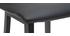 Tabourets de bar noirs H65 cm (lot de 2) OSAKA