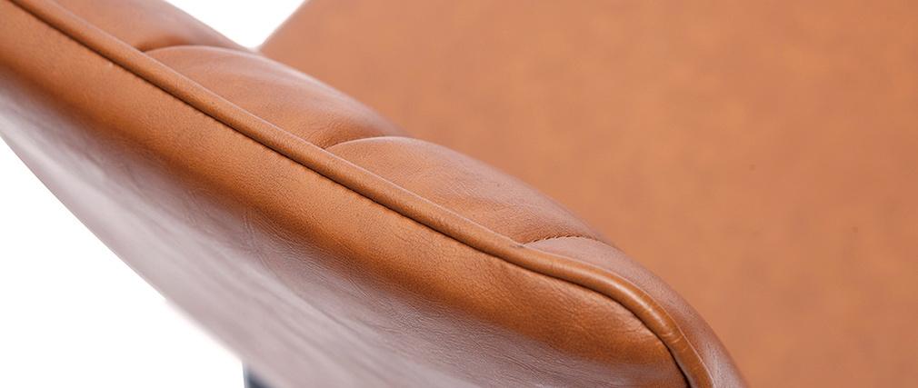 Tabourets de bar vintage marron (lot de 2) H62 cm FARELL