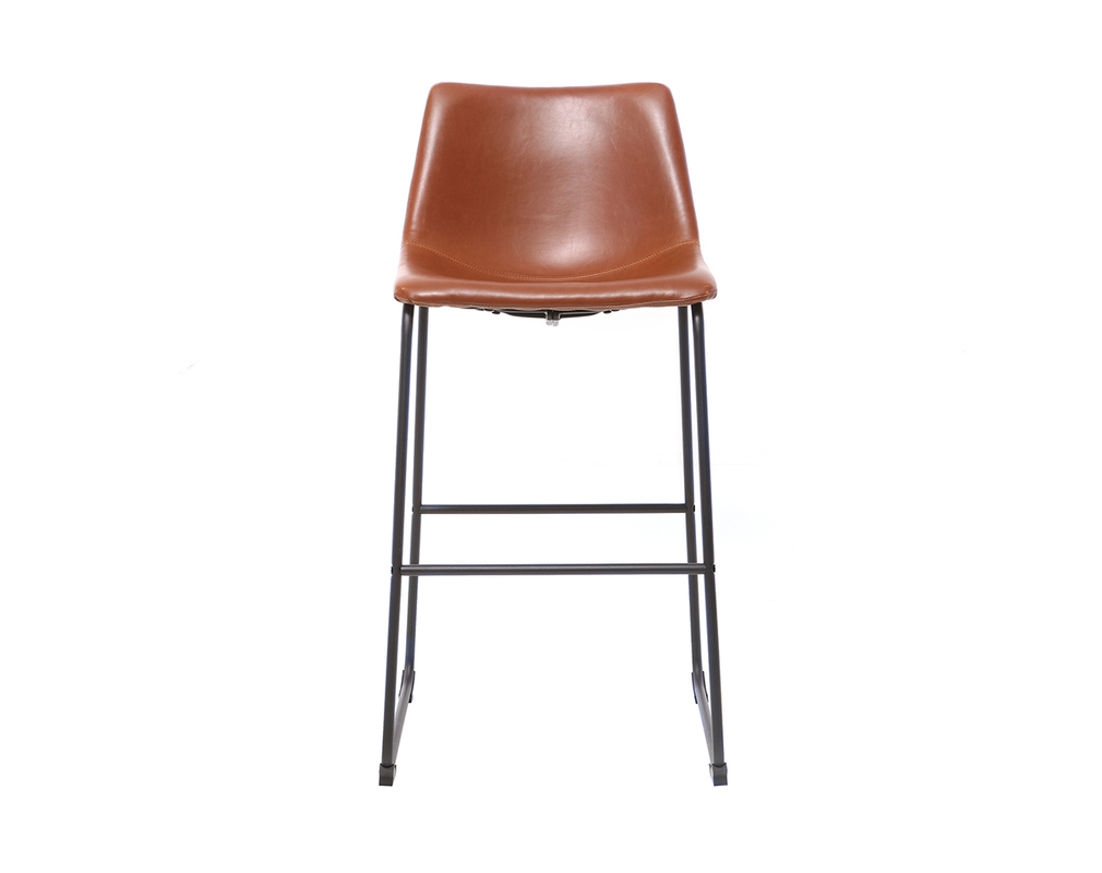 Tabourets de bar vintage marron clair 73 cm (lot de 2) NEW ROCK