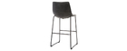 Tabourets de bar vintage noirs 73 cm (lot de 2) NEW ROCK