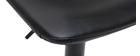 Tabourets de bar vintage réglables noirs (lot de 2) NEW ROCK