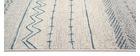 Tapis à motifs beige et bleu 150 x 220 cm TRIBAL