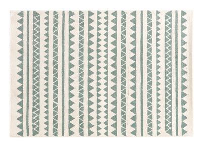 Tapis à motifs graphiques bleu clair 120 x 170 cm TAYA